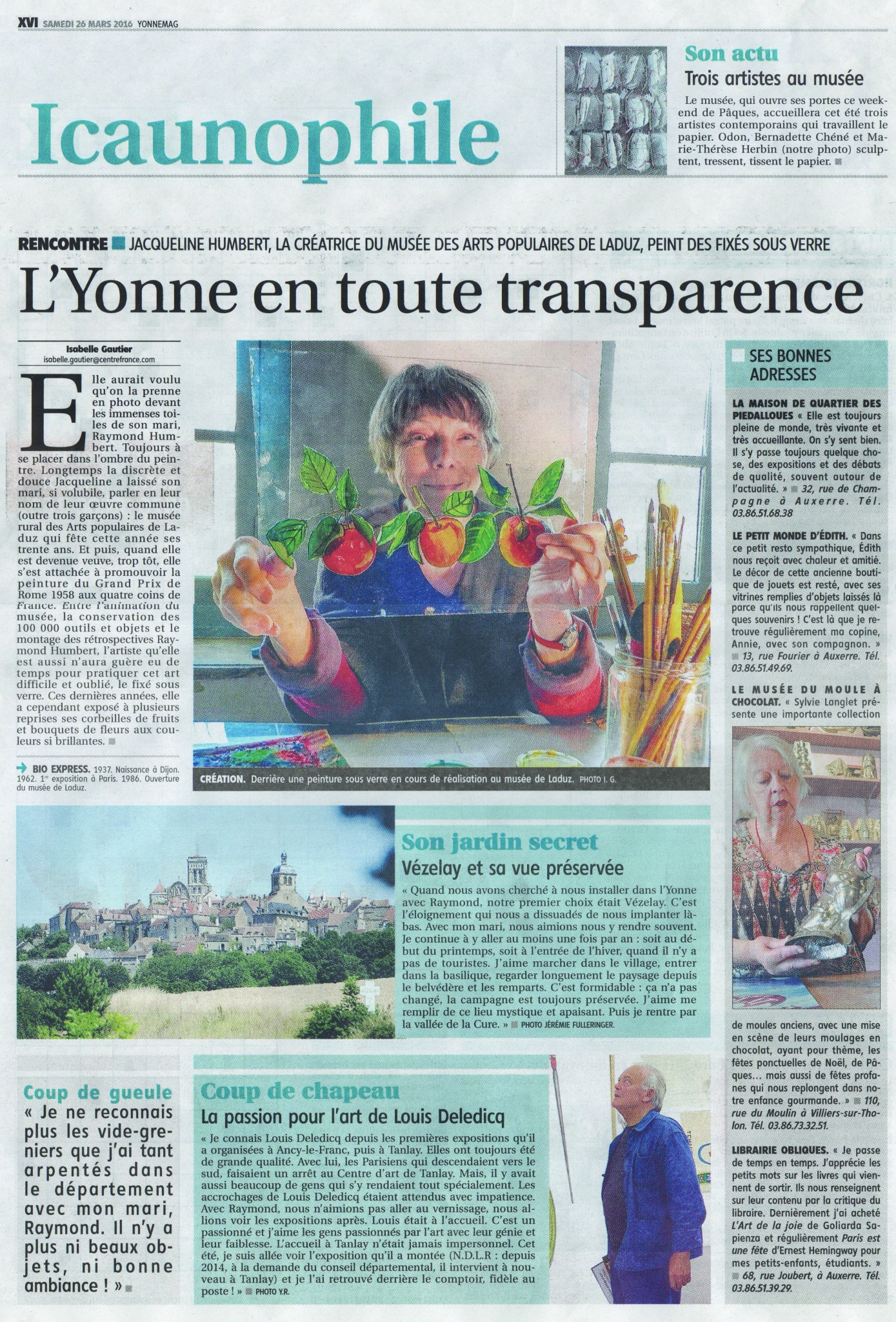 L'Yonne en toute transparence