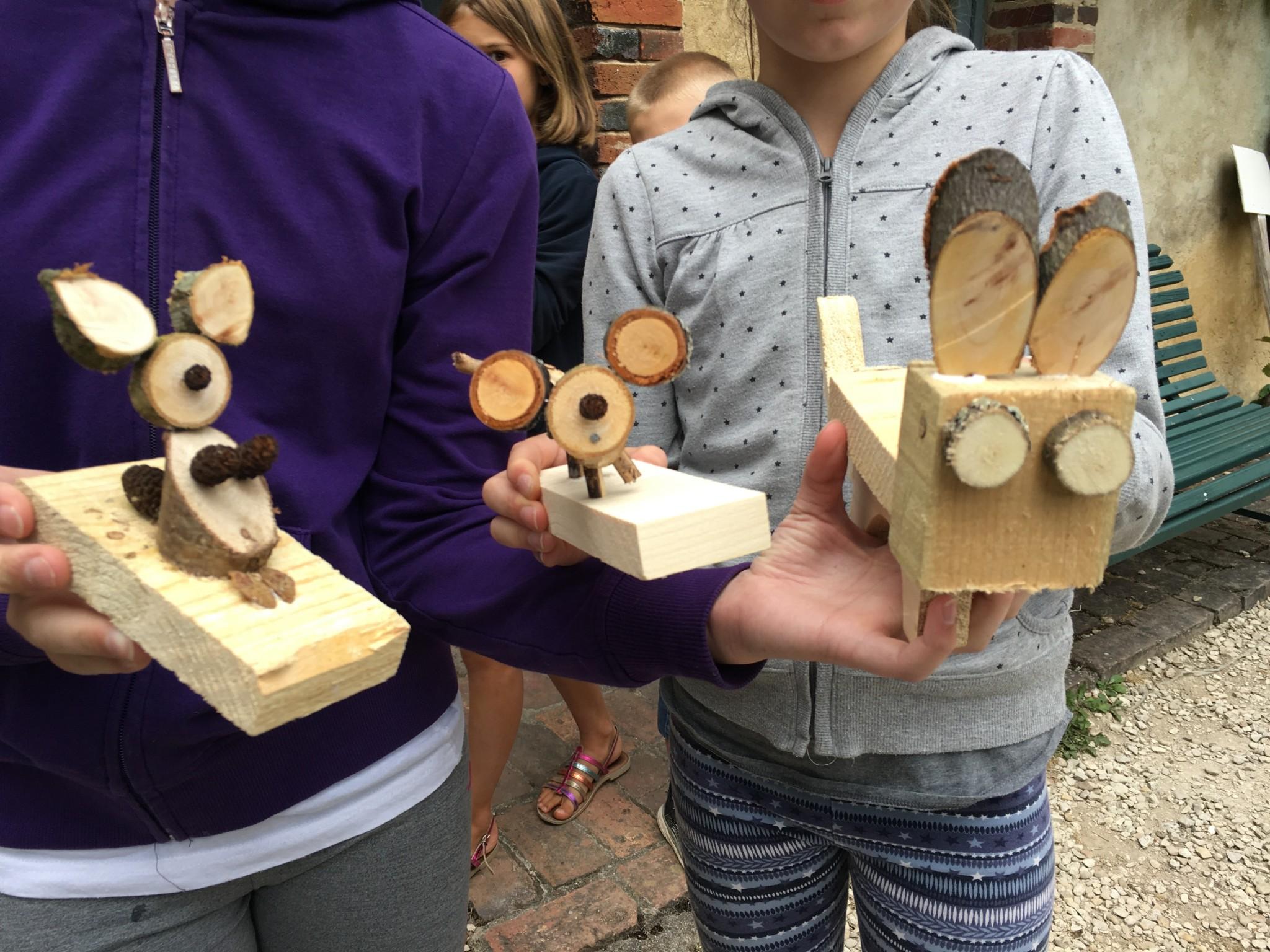 Atelier Création de jouets en bois du 10 août 2016