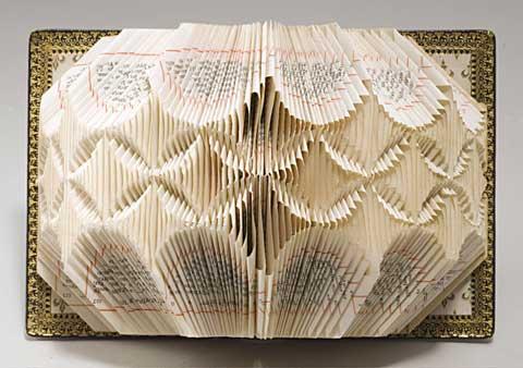 Lucile Moroni - Oeuvre en papier plié