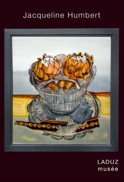 Jacqueline Humbert - Fixés sous verre. Exposition