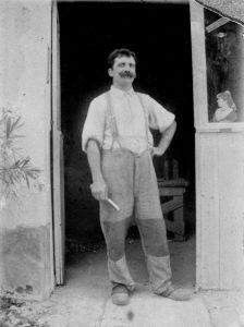 Alfred Chanvin, menuisier en art forain