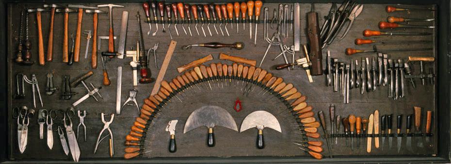 Le bourrelier. Les artisans du cuir. Collections Humbert