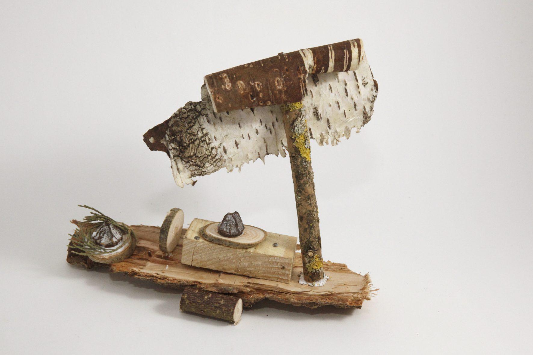 Bateau. Atelier bois, janvier. Photo© Anne Nguyen Dao / Musée de Laduz