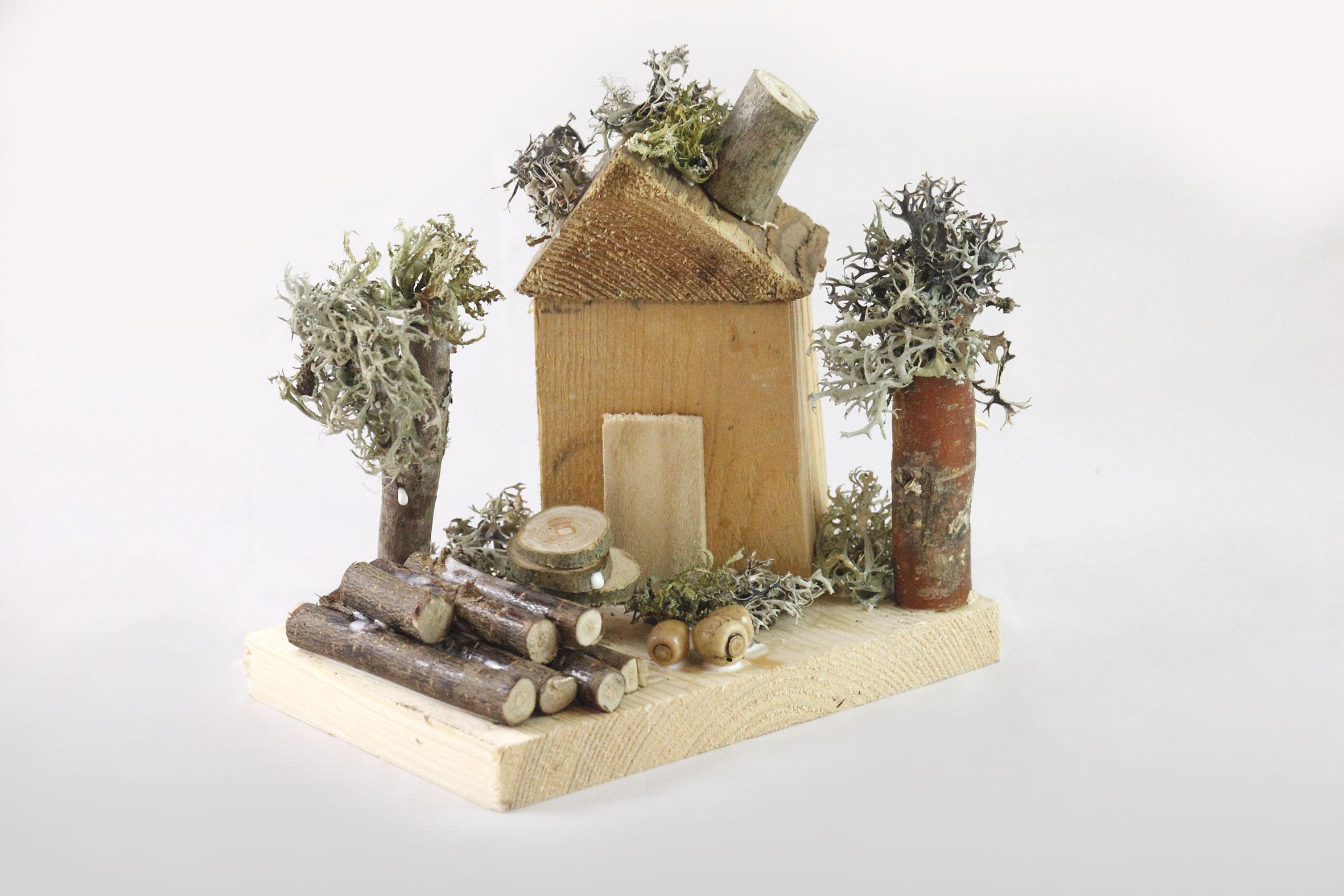 Atelier bois, maison en bois